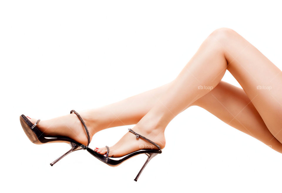 woman white legs beauty by ohayman