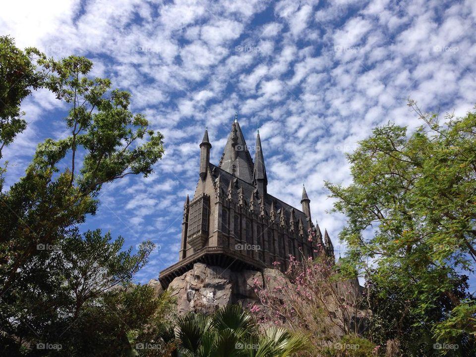 Hogwart castle