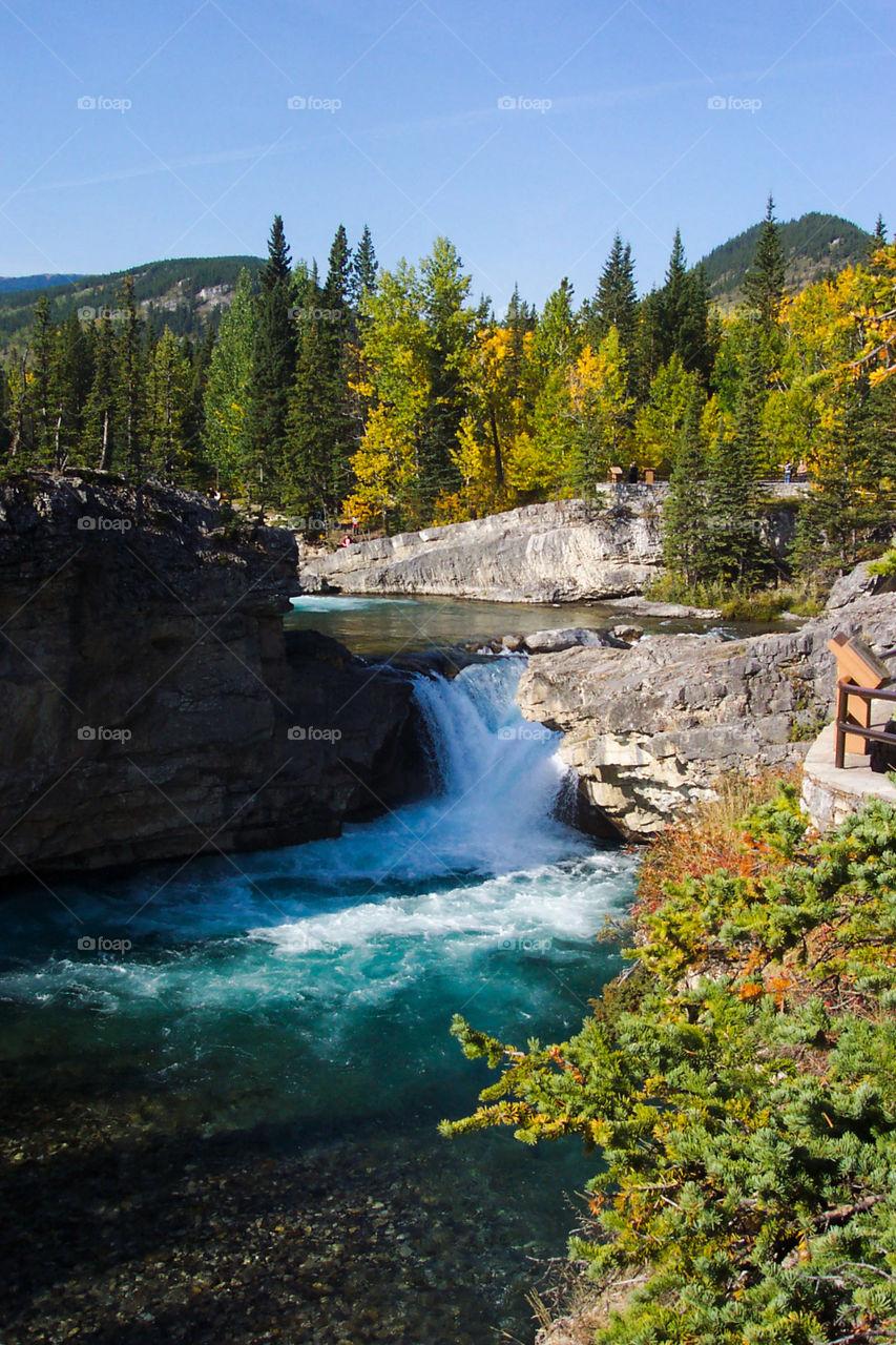 Elbow Falls, Kananaskis Alberta