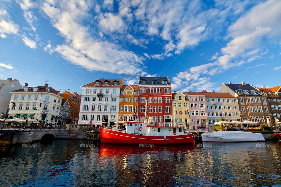 Colorful and wonderful Nyhavn in Copenhagen