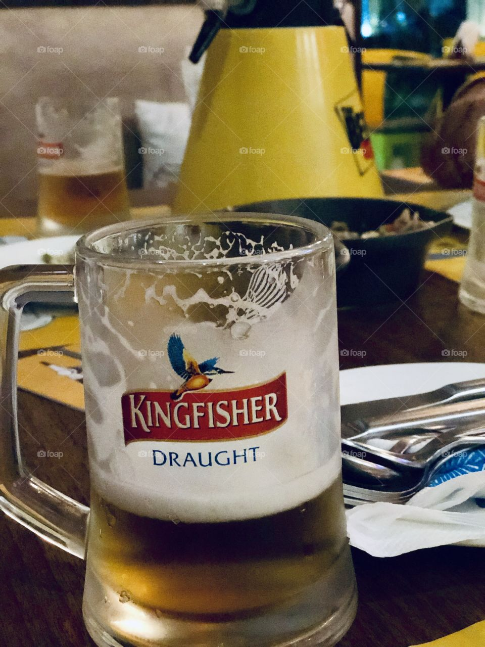 Celebrating Special Occasions. 8% Kingfisher Beer. Refreshment🍻