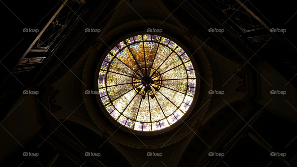 Old Courthouse Stained Glass