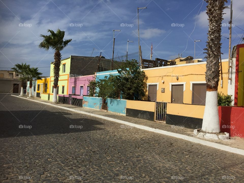 Houses in Cape Verde