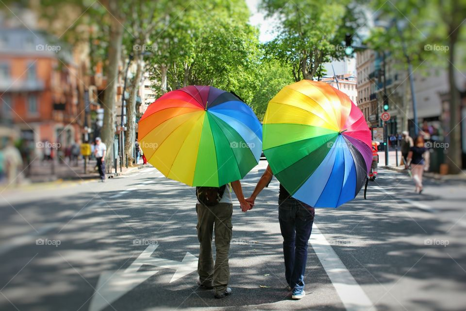 gay pride in Toulouse, France