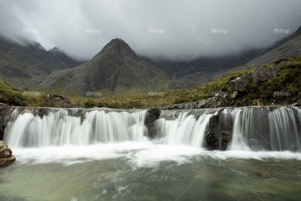 The Fairy Pools are a series of crystal clear pools and small waterfalls on a tributary of the river Brittle!