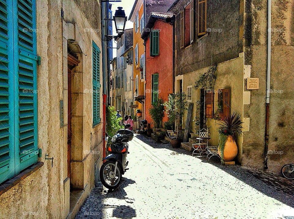 street plants houses france by lemonique