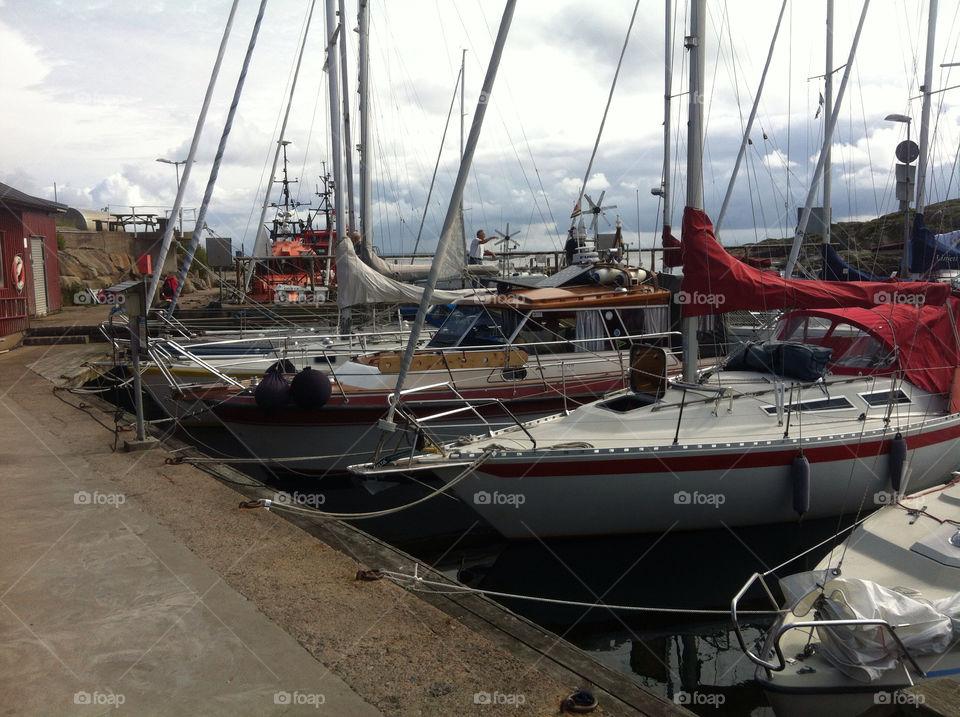 sweden harbour sailing westcoast by jojogbg