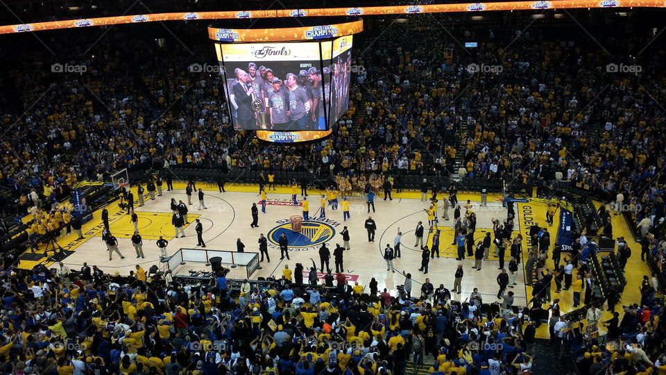 Warriors NBA champs