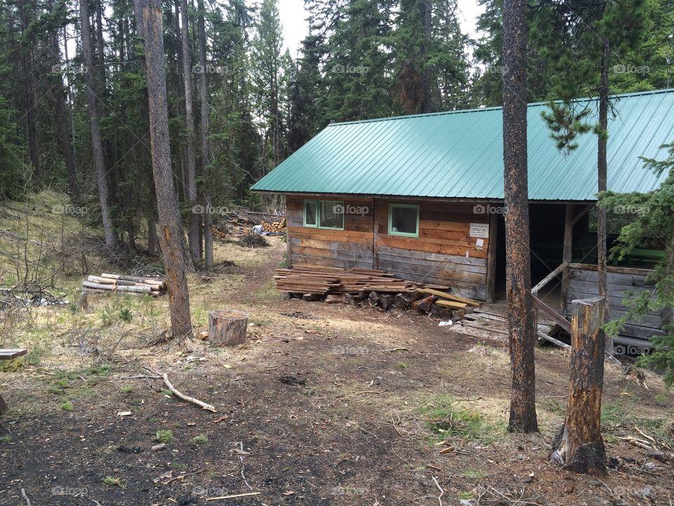 Beautiful Kamloops mountain cabin