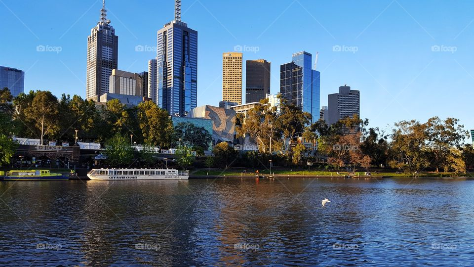 Afternoon in Melbourne