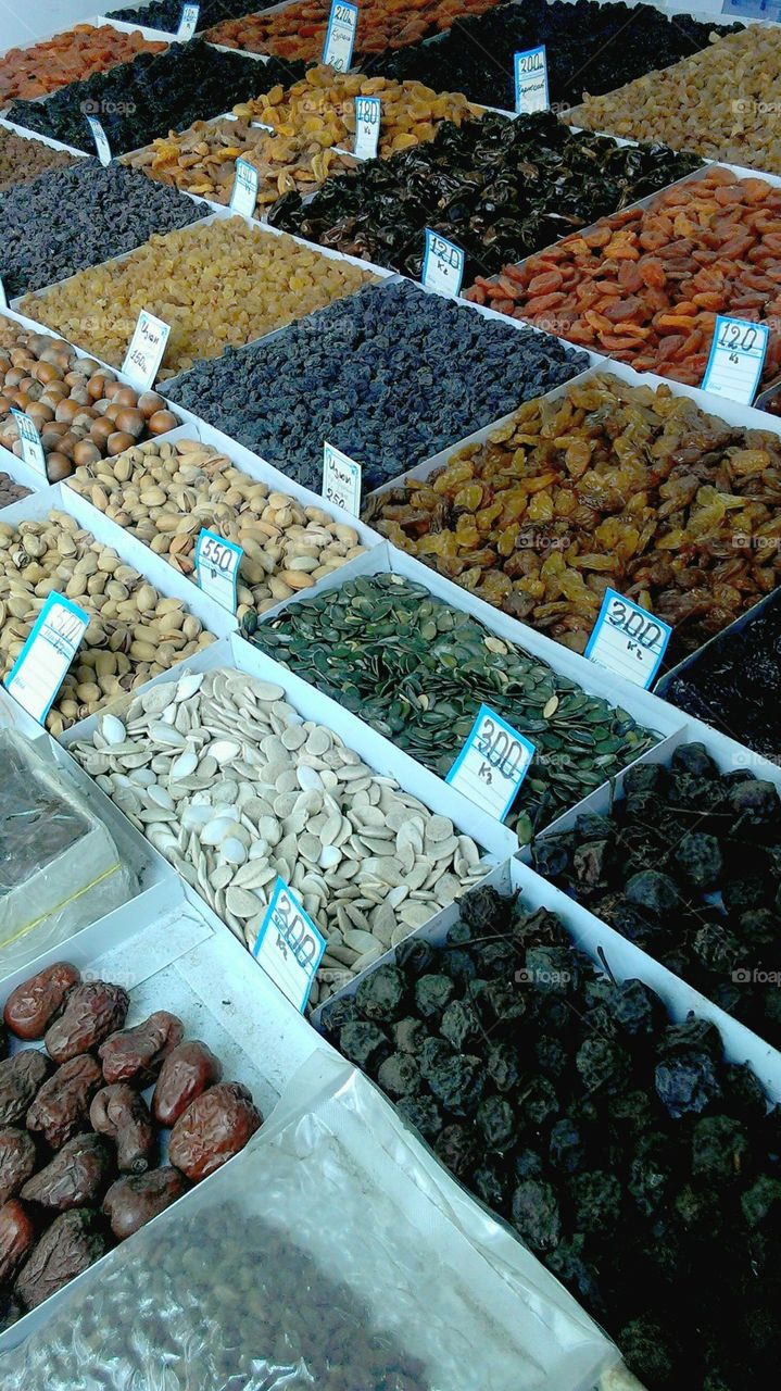 Market, Food, Sale, Stall, Bazaar