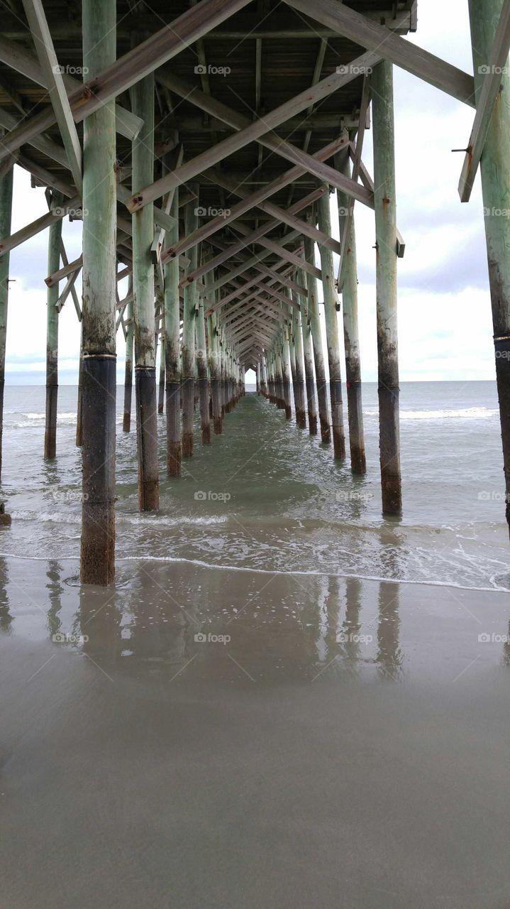 Under the. Pier