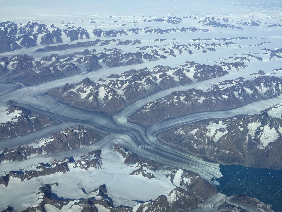 Calving of Icebergs