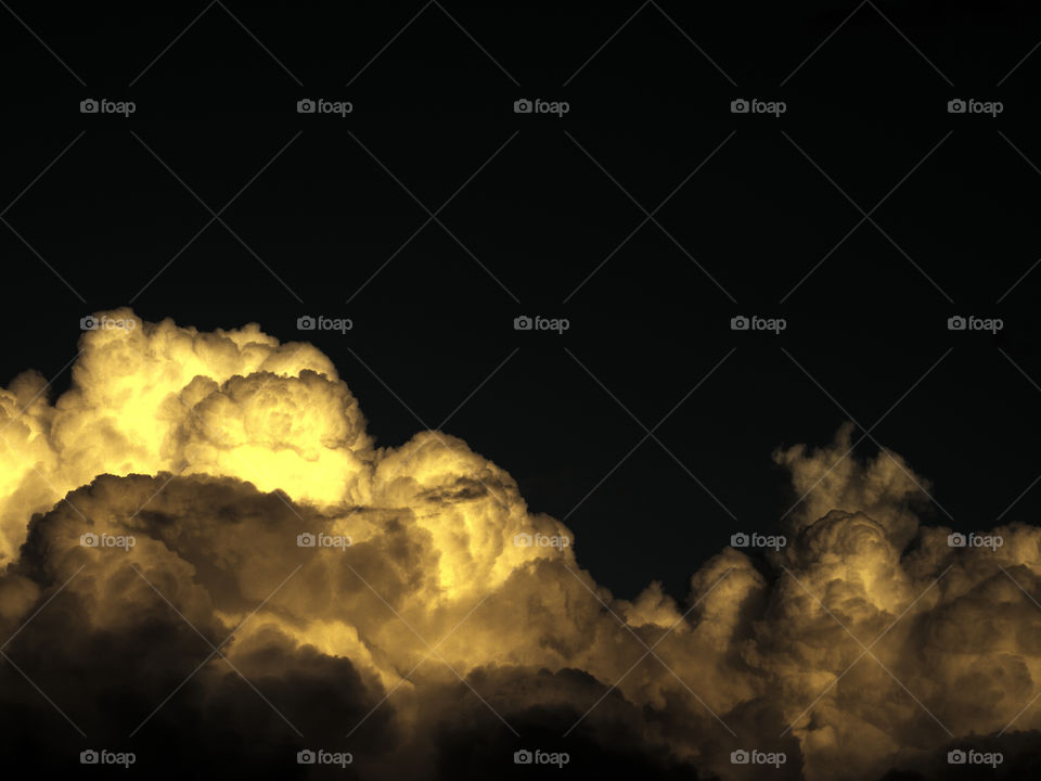 Black clouds for amoled display