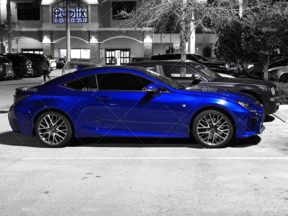 Sports car.