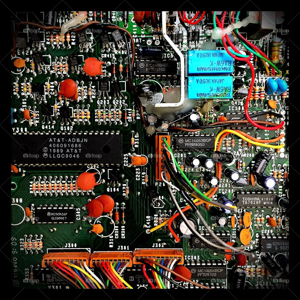 Color Love, Control Panel, Computer, Technology, Wires, Colorful Electronic Wires, Electronic Motherboard, Computer Gadget