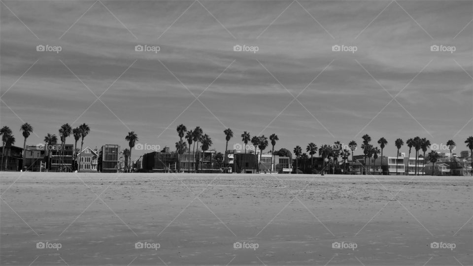 expensive view of Venice Beach