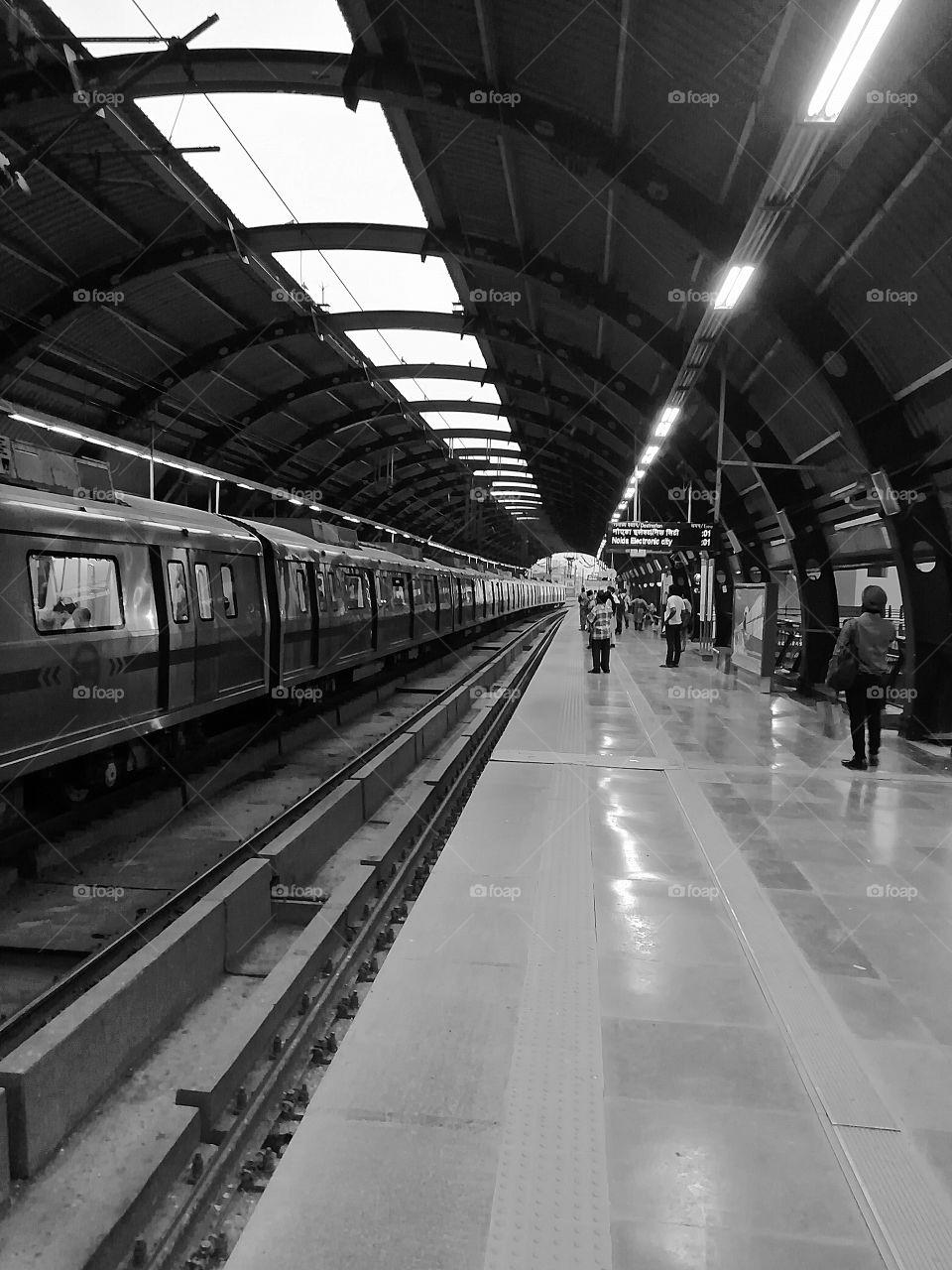 Metro station1