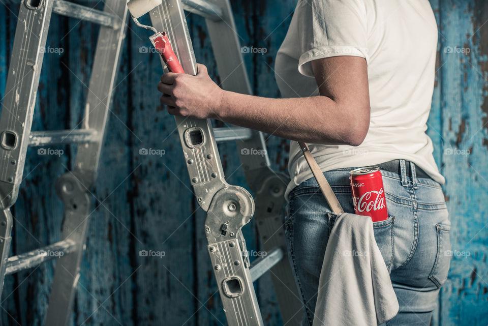coca cola at work, lifestyle, urban shot