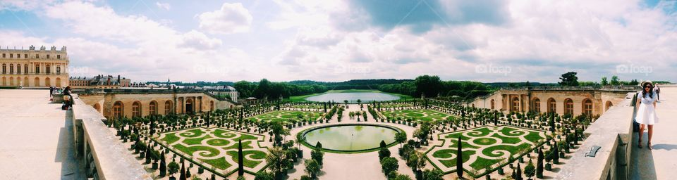 Panorama from versailles