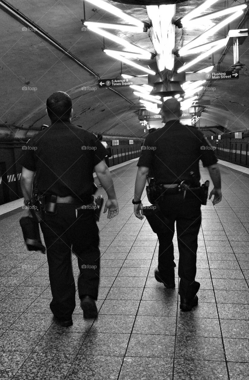 Subway NYPD