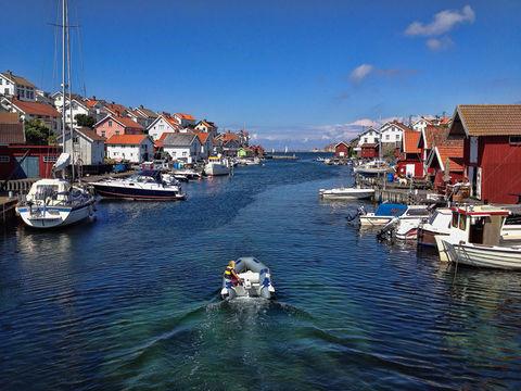 water summer sweden blue by ralph64