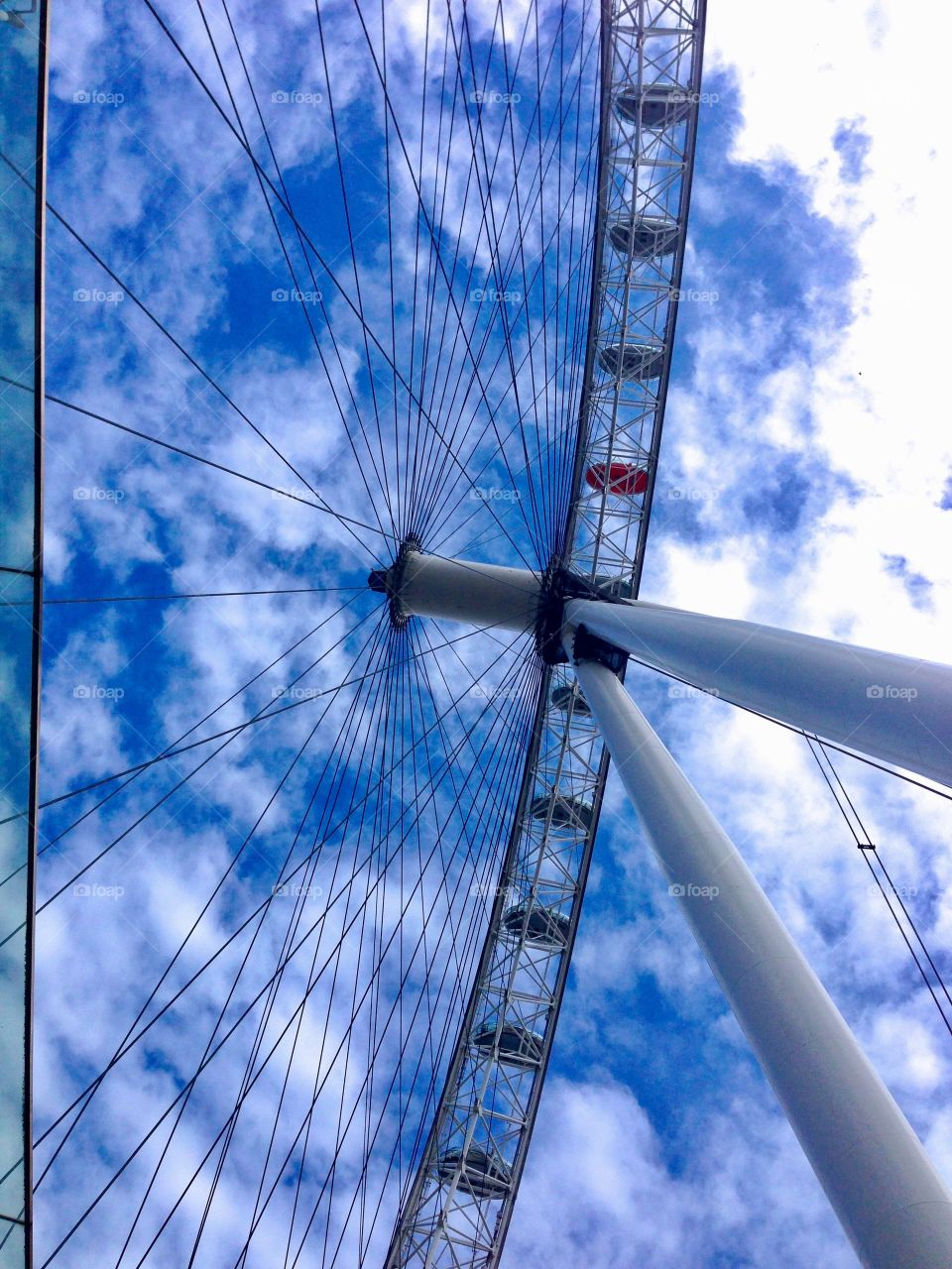 London eye close