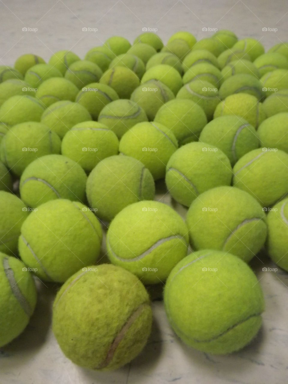 get your tennis ball