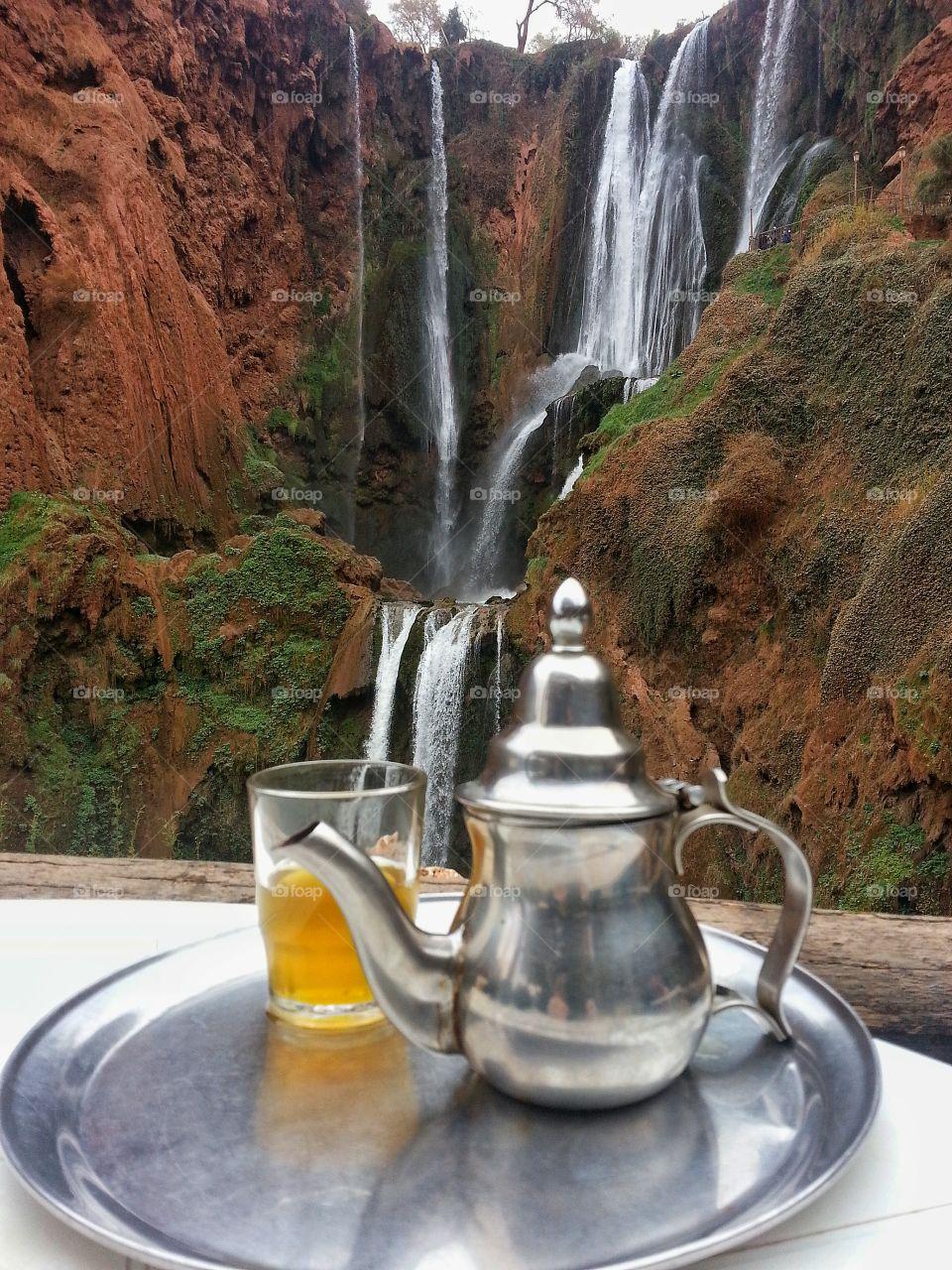 Tea time Moroccan style