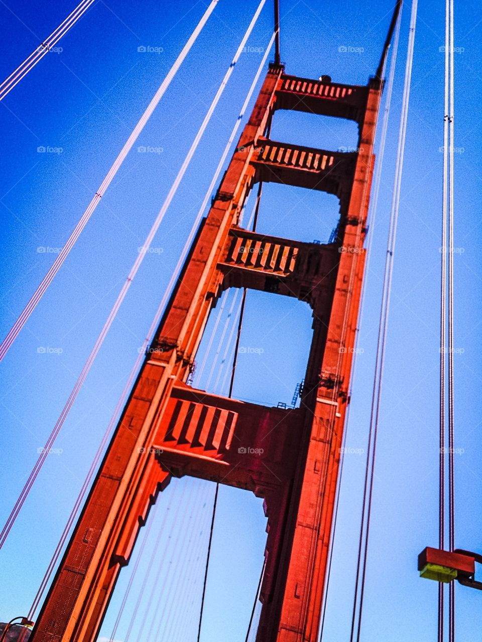 The golden gate bridge is one of San Francisco's greatest landmarks.
