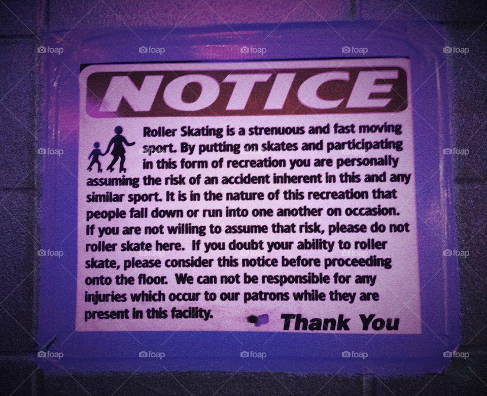 Rink Rats Signs