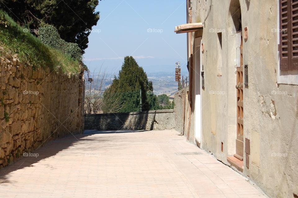 strade San Gimignano