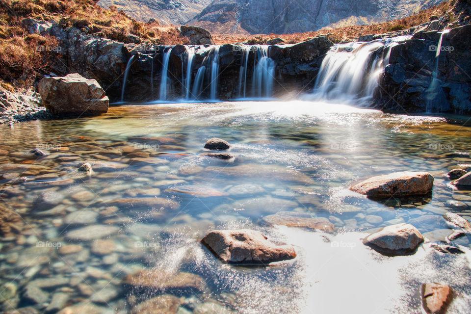 Fairy pools waterfalls