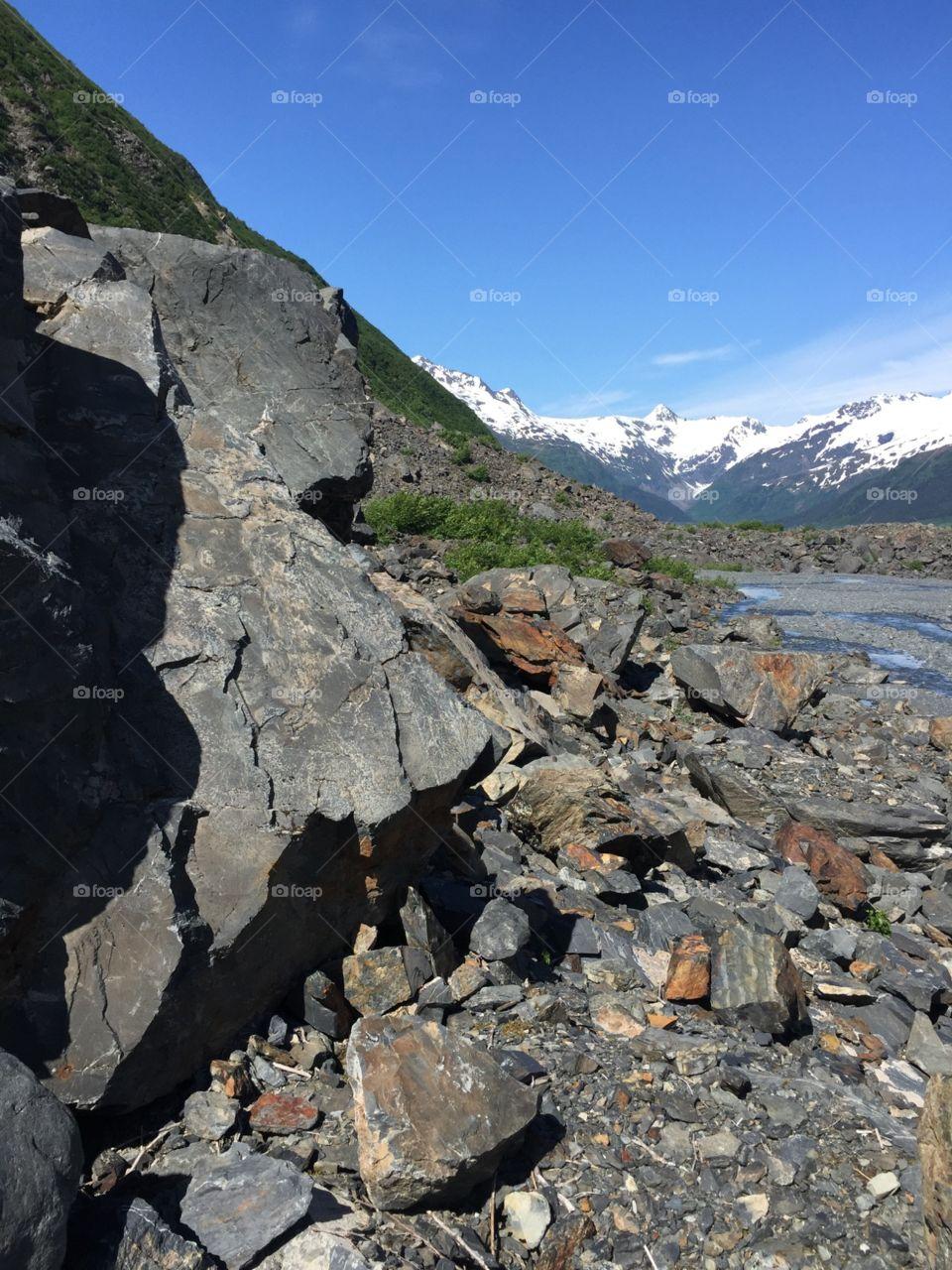 Byran Glacier. Hike I made to the Byran Glacier in Alaska