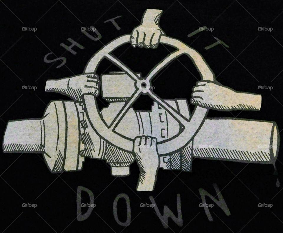 Shut it down, pipeline