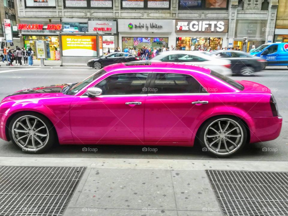 New York City car