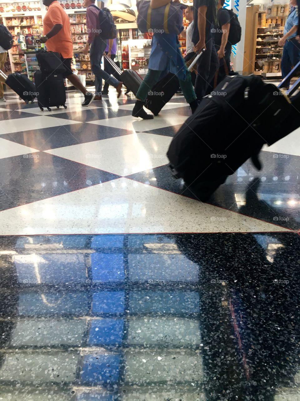 Airport shuffle 1