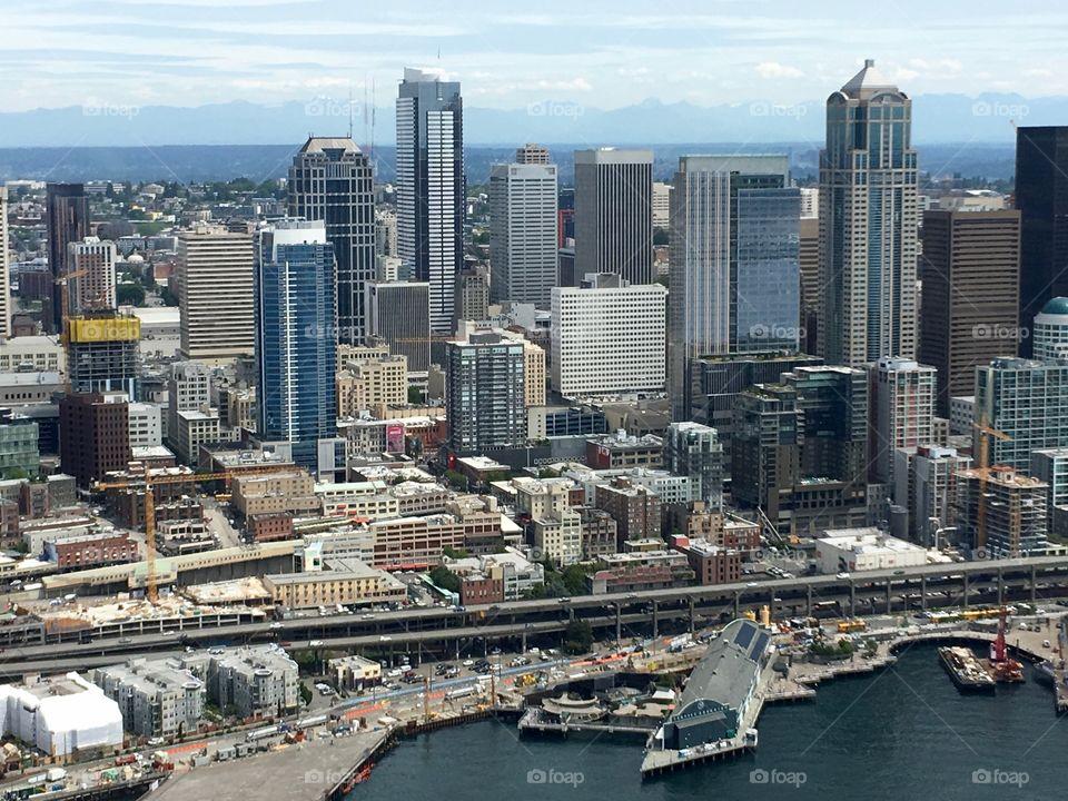 Seattle skyline daytime