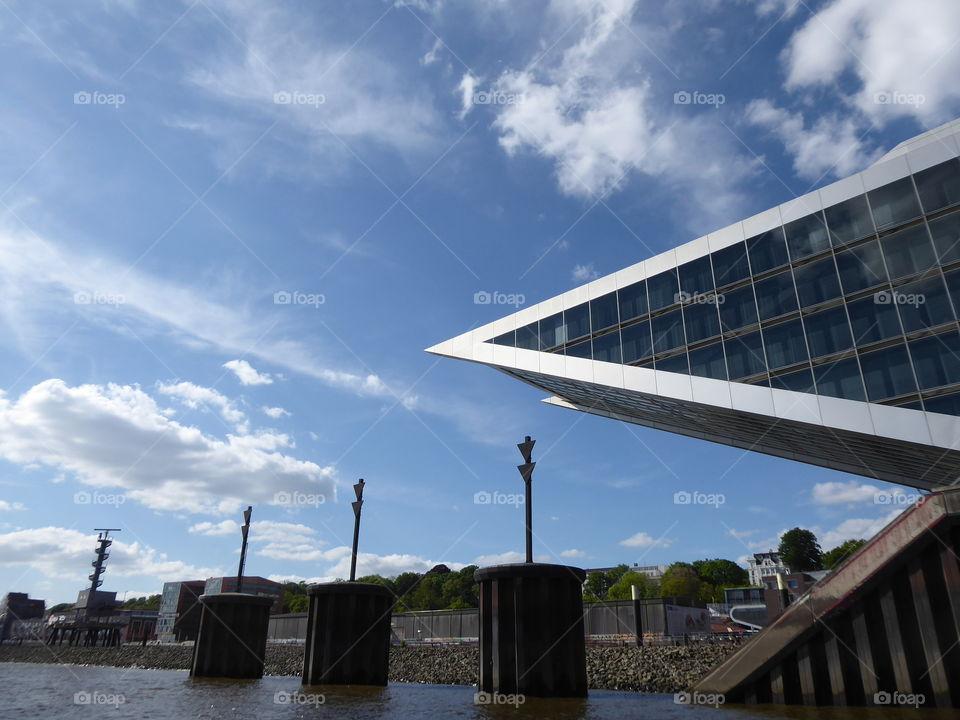 modern architecture Hamburg Dockland