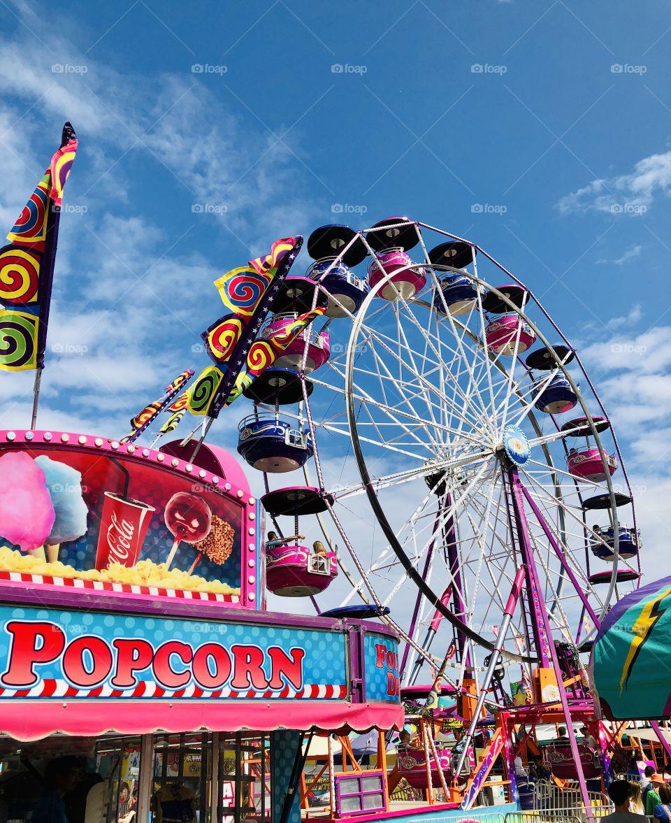 Beautiful Colourful Fairground