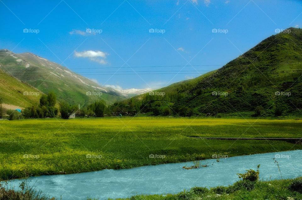 Bend-i mahi river
