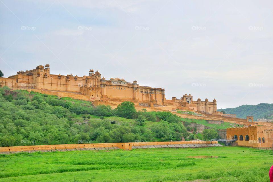 view of Amber palace, Jaipur