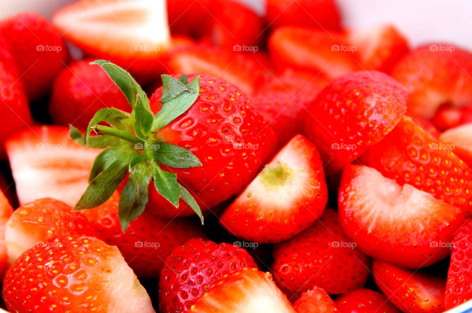 Close-up of strawberry