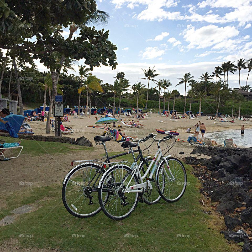 Beach in Kona, Hawaii