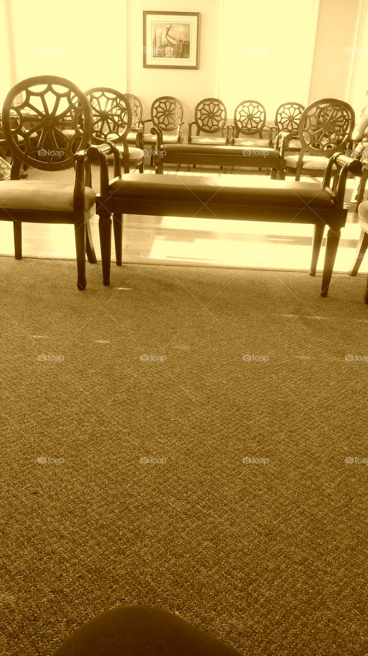waiting Room. My hour wait at the dentist.