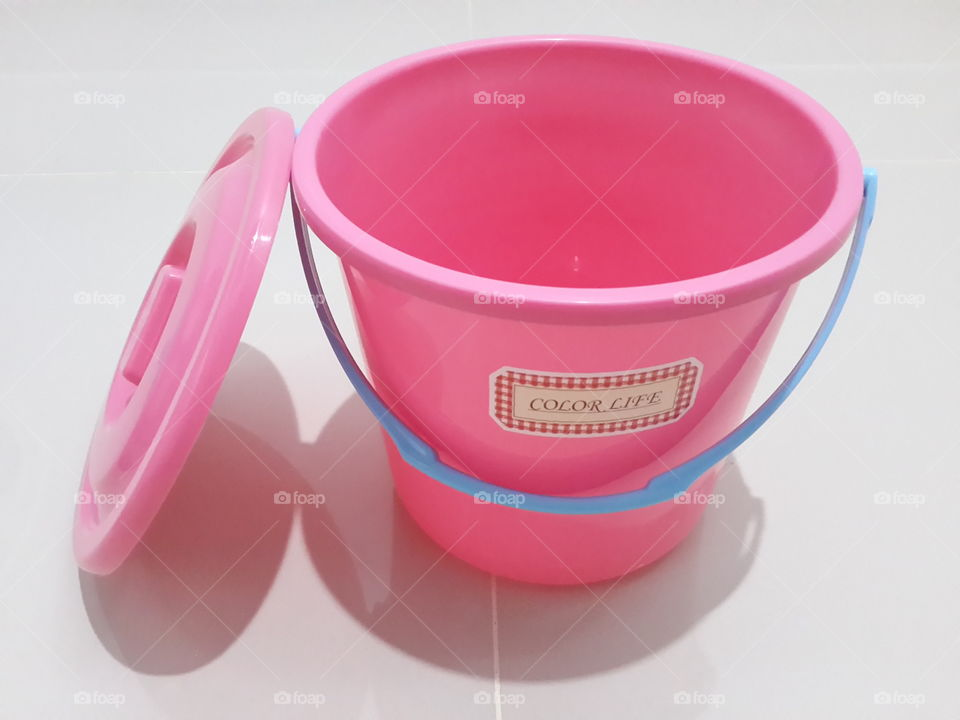 Mini Pink Bucket