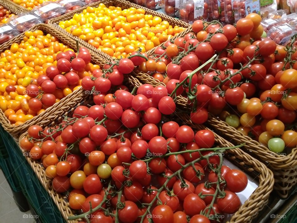 tomatoes.  Carrefour supermarket