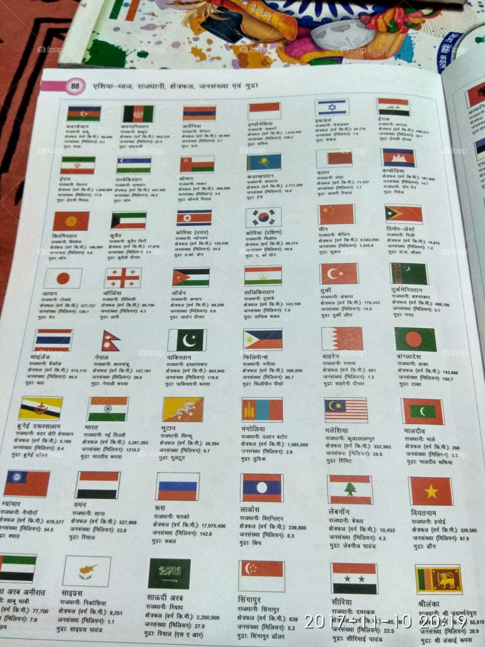 asian country flags.