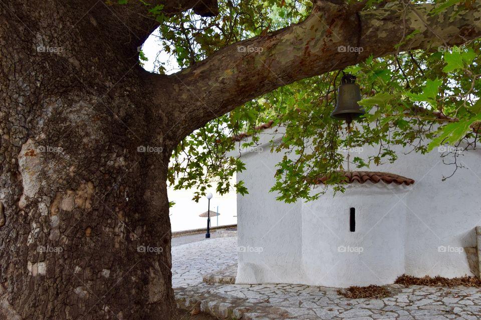 Greek church near the sea