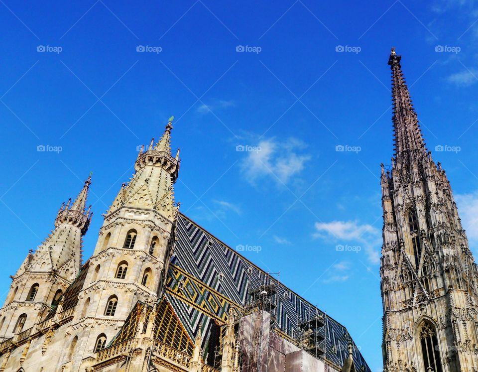 Stephansdom (St. Stephan's). St. Stephan's Cathedral Sept 2015
